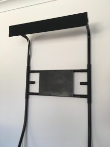 Lean2Pro Frame with Lighting Pellet attached